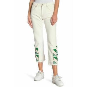 Levi's Made & Crafted Slim Crop Jeans Capri Sz 31
